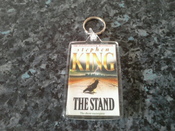 The Stand Jumbo Keyring. Stephen King Book Art